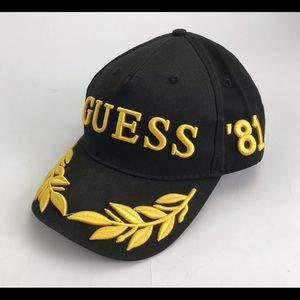Rare GUESS '81 Gumball 3000 embroidered hat